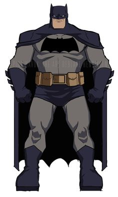 The Dark Knight Animated : In-Class Demo 01 by pinkhavok