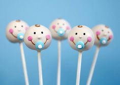 Baby Face Cake Pops