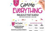 Gimme-Everything-Font-Bundle