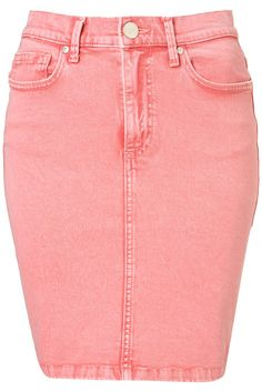 light pink denim skirt, I think yes!!!