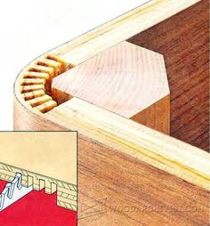 Ted's Woodworking Plans - Kerf Bending - Bending Wood Tips and Techniques - Woodworking, Woodworking Plans, Woodworking Projects Get A Lifetime Of Project Ideas & Inspiration! Step By Step Woodworking Plans Beginner Woodworking Projects, Learn Woodworking, Woodworking Techniques, Woodworking Projects Diy, Diy Wood Projects, Teds Woodworking, Popular Woodworking, Intarsia Woodworking, Youtube Woodworking