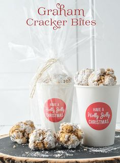 Graham Cracker Bites, A Graham Cracker Recipe