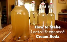 Fermented cream soda is the easiest fermented soda to make at home. All you need is water, sugar and one other simple ingredient.