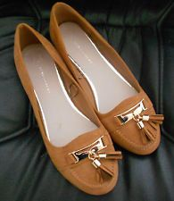 717facc9e0fd Atmosphere PRIMARK Tan Faux Suede Shoes Tassel Loafers UK 5 (38) - Brand New