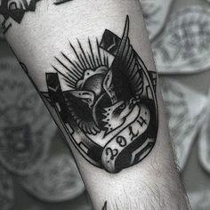 60 Horseshoe Tattoo Designs For Men