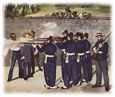 L'Exécution de Maximilien Édouard Manet   1867
