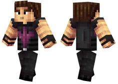 Minecraft Skins   Hawkeye