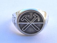 Pink Floyd Ring Sterling Silver 925 by vikigreen on Etsy, $59.99