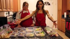 Healthy food philosophy, & Meal Prep with Ana Cheri, Impressive!
