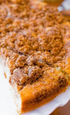 Sallys Baking Addiction Super Crumb Coffee Cake. - Sallys Baking Addiction