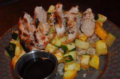 Karie's Favorite Recipes: Rumbi Grill - Chicken Teriyaki & Veggie Rice Bowl