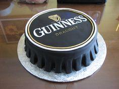 Cake gâteau fondant Guinness