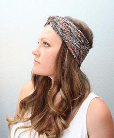 Pretty Penna| Headband Pretty Penna headband, women's headband, children's headband, infant headband, buy local, messy bun, long hair, hairstyle, hair accessories
