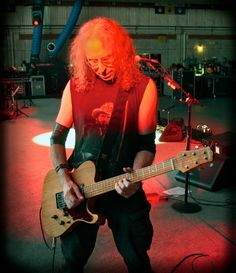 Waddy Wachtel with an Asher  T Deluxe - in rehearsal for the 2016 Stevie Nicks tour.