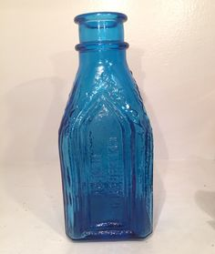 A personal favorite from my Etsy shop https://www.etsy.com/listing/517062742/vintage-wheaton-cobalt-blue-large-glass