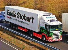 it would be great to get a ride in one of his trucks for the day ! Cool Trucks, Big Trucks, Eddie Stobart Trucks, Old Wagons, Fan Picture, Commercial Vehicle, Fire Engine, Semi Trucks, Cool Pictures