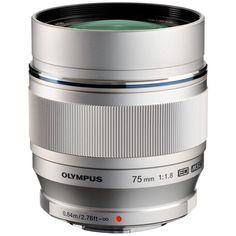 Olympus M.Zuiko 75mm f1.8 Premium Telephoto Prime Lens | Olympus