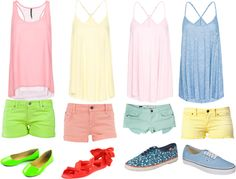 A fashion look from July 2012 featuring pink top, yellow top and blue shirt. Browse and shop related looks. Yellow Top, Pink Tops, Fashion Looks, Polyvore, Blue, Shirts, Shopping, Shirt, Dress Shirt
