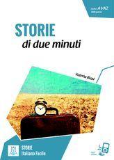 STORIE di due minuti - Letture - serie STORIE - ALMA Edizioni - Il piacere di imparare l'italiano - Corsi di Lingua - Corsi di Italiano - Materiale didattico