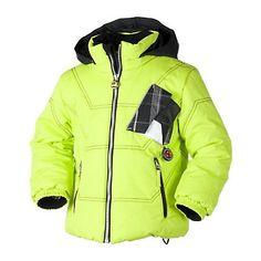 Obermeyer Double Diamond Toddler Ski Jacket, Electric Blue, large