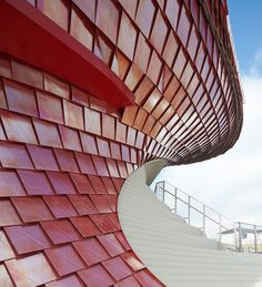 Vanke Pavilion for Expo 2015 in Milan by Daniel Libeskind   Temporary structures