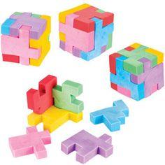 Puzzle Cube Eraser
