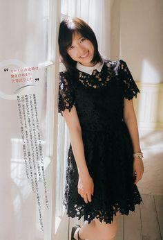 土屋太鳳tao_tsuchiya Asian Woman, Asian Beauty, Short Sleeve Dresses, Japan, Actresses, Celebrities, Cute, Beautiful, Black