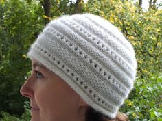"""""""White cloud"""" hat  by Maria Petikhina   http://www.ravelry.com/patterns/library/white-cloud-hat"""