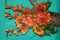 Fall silk arrangement selling for $70.00
