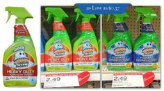 Last Day! Scrubbing Bubbles Cleaner, Only $0.37 at Target!