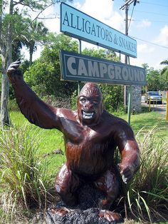 Skunk Ape Research Headquarters in Ochopee, FL.