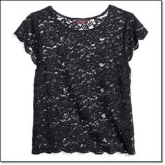 mark. A CUT ABOVE TOP Cropped just enough to hit at the waist, our lacy, boxy top's a standout with a scalloped hem and capped sleeves that lend a romantic feel. http://jgoertzen.avonrepresentative.com/