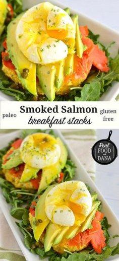 Smoked Salmon Breakfast Stacks   Real Food with Dana