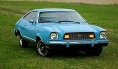 Light Grabber Blue 1974 Mustang Mach 1