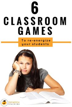 Does this sound familiar, you're talking to your class about a particular concept and your students look back at you with blank looks on their faces or you ask a question and all is silent? Then this is just the time to use a quick game to re-energize your students and get them ready for learning again.