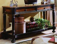 Preston Ridge Sofa Table   Hooker Furniture   Home Gallery Stores