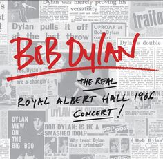 THE REAL ROYAL ALBERT HALL 1966 CONCERT Bob Dylan Album