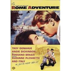 Rome Adventure  -  Chad Everett, Suzanne Pleshette, Troy Donohue, Angie Dickinson, Rossano Brazzi, Constance Ford, Al Hirt  -  1962