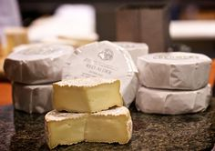 Cheeses from Mount Townsend Creamery in Port Townsend, WA. (They also have a little shop in Pike Place Market.)