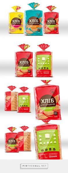 ZHYVYI ZLAK sandwich bread by Lesia Shyba. Pin curated by #SFields99 #packaging #design