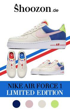 finest selection 8f3b3 5c84e Damen Sneaker - Nike Air Force 1 - in Blau, Pink, Rot, Grün