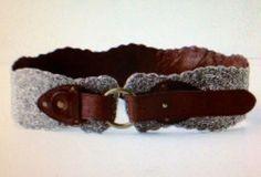 Anthropologie Jasper And Jeera Enchanting Eyes Belt Beaded Leather