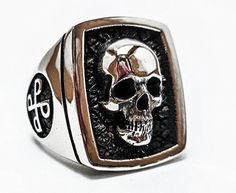 Phantom Skull Ring, 925 Sterling Silver