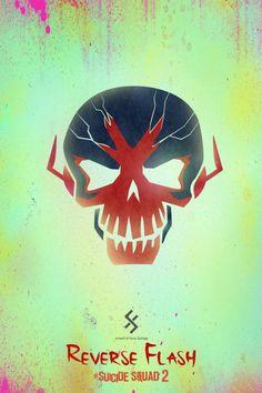 Suicide Squad 2 Reverse Flash Fan Made Poster- Farou Santiago