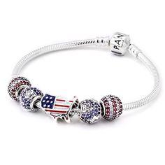 PANDORA Stars & Stripes Bracelet