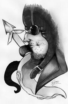 Alessio Schirinzi - illustration about Ismaele - Akronya Studio - Massoneria Creativa - www.massoneriacreativa.com