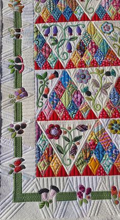 https://flic.kr/p/NuTX2Z | A2 | Sweet Surrender by Sue Cody, pieced by Beth and quilted by Judi Madsen