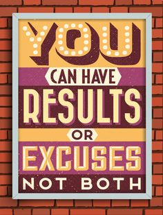i general hate these sort of quotes, but i love the fonts... Gorgeous Retro Typographic Posters Of Motivational Quotes - DesignTAXI.com