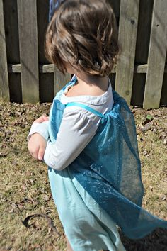 Cute idea for play...No-Sew Frozen Elsa Pillowcase Dress - My Sweet Sanity