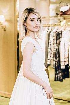 Atriz foi escolhida por Tory Burch para vestir a grife no Met Gala (Foto: Noa Griffel/Divulgação)